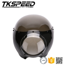 "Black 5 3/4"" Cafe Racer chinese motorcycles For harley davidson fairing"