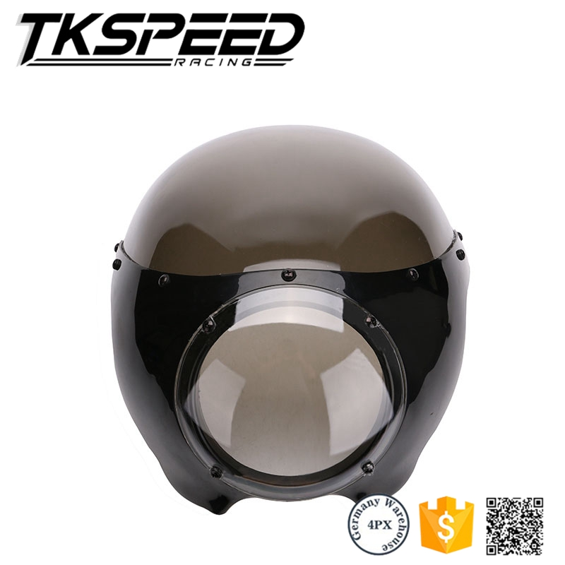 "new arrived motorcycle Black 5 3/4"" Cafe Racer Headlight Fairing For Sportster 883 1200 Dyna"