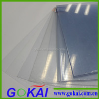 1mm clear thin pvc flexible plastic sheet