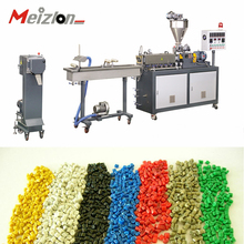 Co-rotating pet food pellet compounding machine pelletizer product line plastic recycling extruder