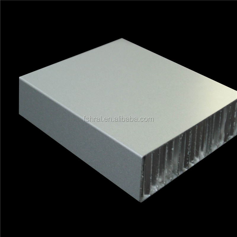 Aluminum honeycomb sandwich panel for white board