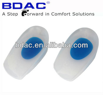 high quality medical silicone gel heel pad
