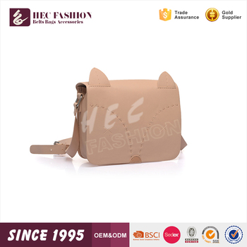 HEC 2016 Classica Animal Designed Long Strip Kid Leather Single Shoulder Bag