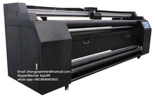 Digital dye sublimation printing machine/sublimation printer for polyester textile fabric