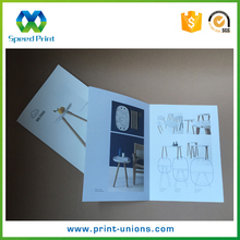 Perfect binding magazine product type high quality brochure Printing