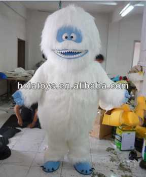 Gorilla mascot costume/yeti mascot costume for adults
