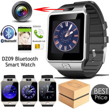 Factory price 2017 DZ09 Ce Rohs Sport Android Smartwatch Sim card Mobile Watch Phones Round Wrist Bluetooth Smart