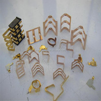 OEM/ODM hardware precision small metal stamping and plating parts