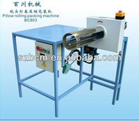 selling pillow rolling and packing machine