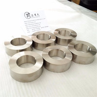 technical support silvery white GR2 titanium ring