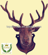 cast iron deer head wall decor