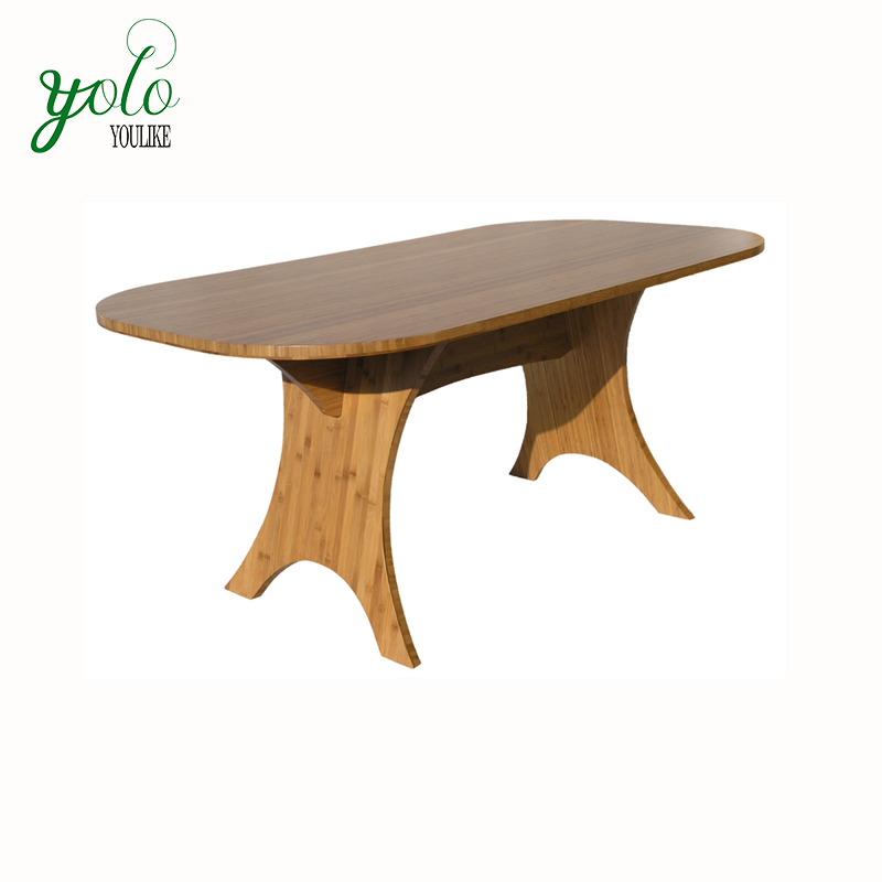 Large Simply Modern Livingroom and office furniture Bamboo Coffee Tea Tables
