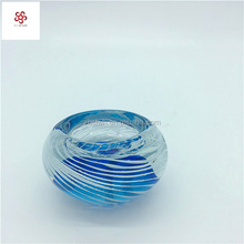 Wholesale customized art glass for candle holder