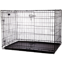 Factory supply best quality steel heavy duty large dog cage with wheels