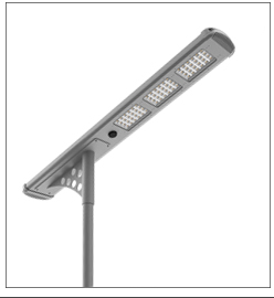 Super light solar road marker light