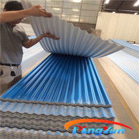 lightweight roof sheet plastic corrugated pvc roofing sheet for warehouse
