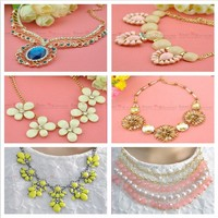 wholesale fashion jewelry bead necklace for women dress