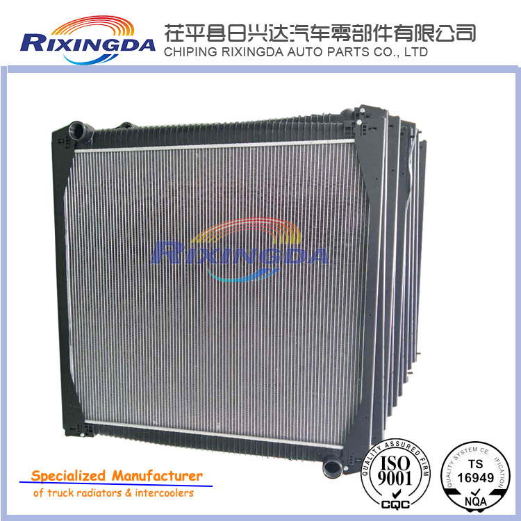truck radiator for scania 4 series plastic tanks prices