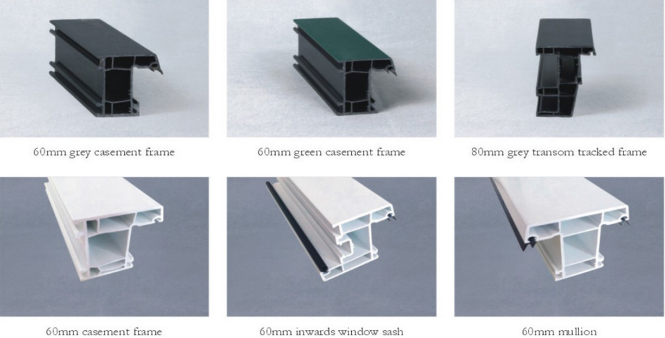 Attractive price new type plastic pvc frame profiles upvc for New upvc door and frame
