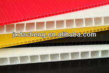 twin-wall hard corflute anti-static 100% virgin polypropylene pp ribbed plastic sheet