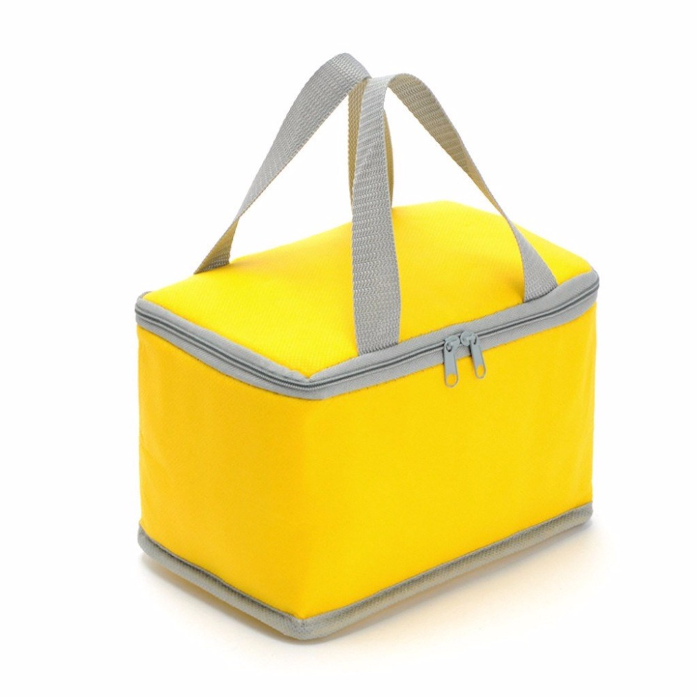 Custom Waterproof Delivery Lunch Bag Disposable Insulated Cooler Non Woven For Ng Beer And Frozen Food