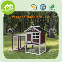 Eco-friendly wooden rabbit cage, outdoor wholesale rabbit hutches