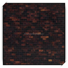 Dark Brown Pen Shell Mosaic Wall Tile