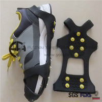 Shoes With Removable Heel No Slip Ice Cleats