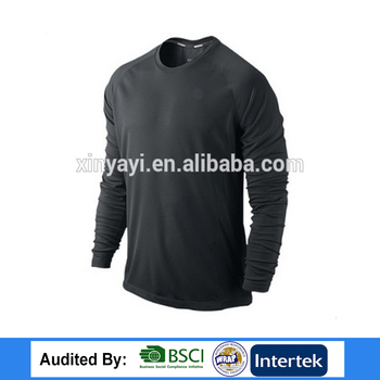 Custom Cotton Mens Designer Dry Fit Long Sleeve Polo Wholesale China Blank T Shirts Cheap in Bulk Plain