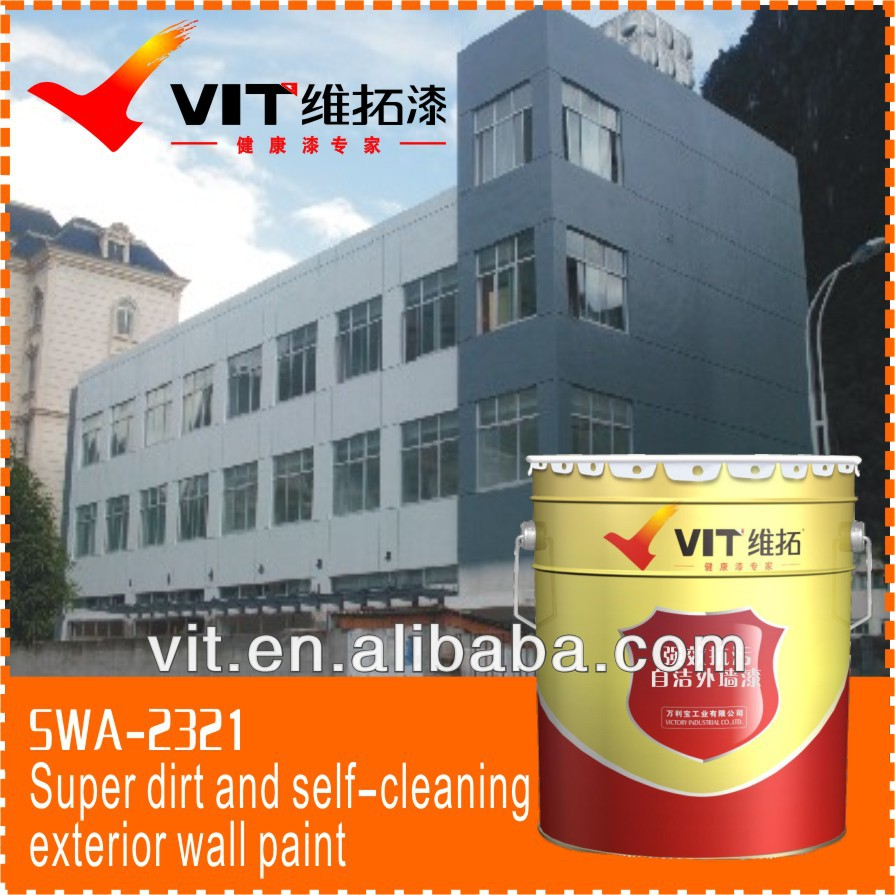 VIT Water-based resin color exterior paint