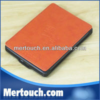 2013 New Design! Amazon Kindle Leather Cover case for amazon kindle 4 pouch amazon kindle 4