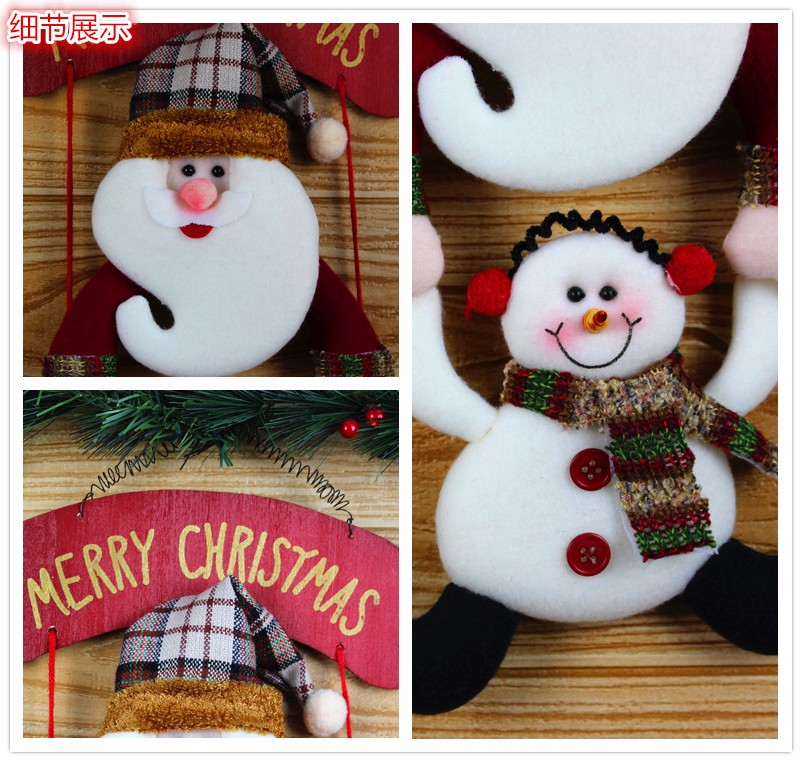 Quality Guaranteed Christmas decorations Wholesale,Handmade Christmas Hanging Decoration