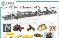 extruder machine for Corn and rice Pops sticks, Straight Sticks Form Core-filling Corn Puffed Snacks Extruder