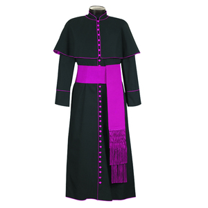 Wholesale hot sale classic style church robe clergy cassock