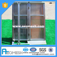 AEOMESH Aluminum Light Weight Strong Stage Truss Barrier Barricade