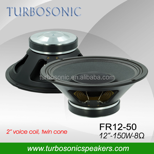 Harga speaker 12 inch full range driver with pressed basket and double cone