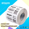 SINMARK 100mmx60mm 800PCS/Roll White Thermal Transfer Label Coated Paper Label Glossy Art Paper Sticker With Permanent Adhesive