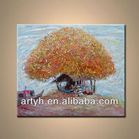 Decoration Tree Painting For Living Room