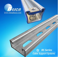 Unistrut OEM Galvanized Steel Strut Channel ISO9001 Authorized factory