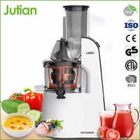 Foshan Jutian Masticating Quick And Self-Cleaning Large Capacity Juicer Machine