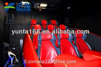 Shopping center mini capsule cinema customized for Coca cola and other famous brand