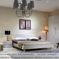 Mdf High Gloss Painting Bed Sets