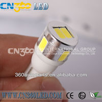 4 colors t10 car led N6 wholesale price 9-18V/DC 3W t10 led in all cars led t10