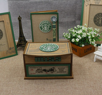 Jewelry box box storage box Home Furnishing wooden ornaments gift ideas