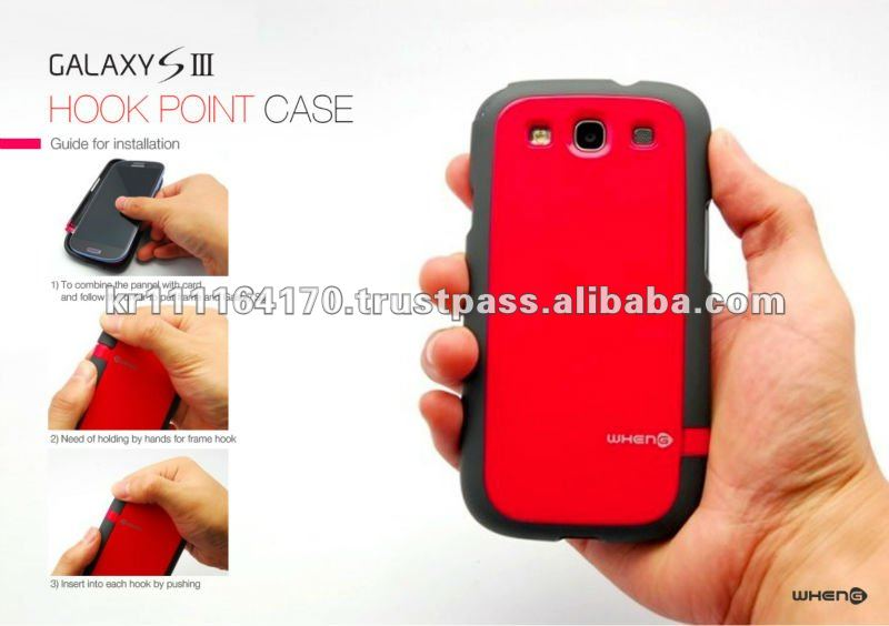 for Samsung galaxy s3 i9300 bumper case high quality