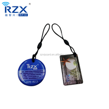 13.56mhz NFC RFID Epoxy Key Cards / Tags for Subway and Bus System