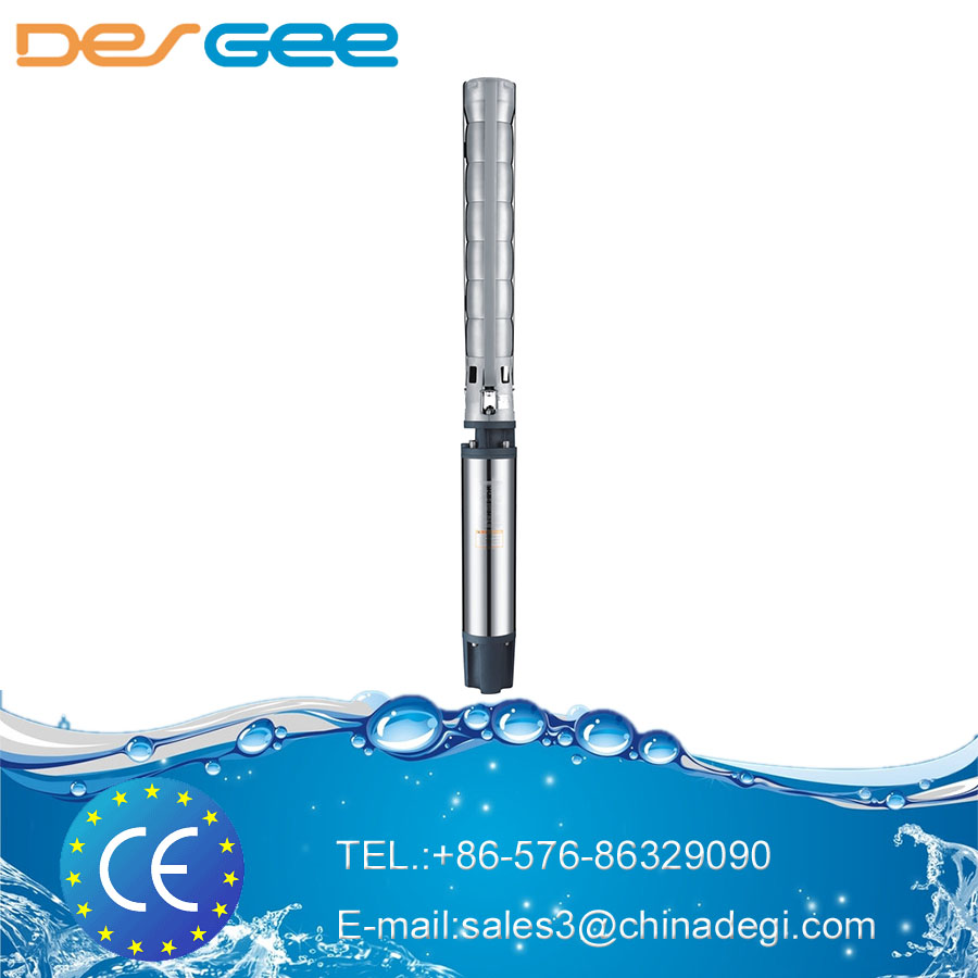 "DEGEE 6sp 6inch 6"" Stainless Steel Deep Well Water Pump /electric Borehole Pump/corrosion Resistance Sea Water Pump 6SP"
