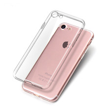Super Slim Transparent TUP Mobile Cell Phone Case for IPhone 8