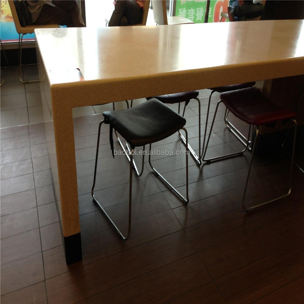 longue table design un fast food bar top haute table pour. Black Bedroom Furniture Sets. Home Design Ideas