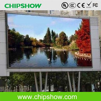 Chipshow P20 outdoor giant led billboard advertising screen on sales